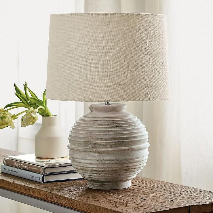 Bryn Table Lamp In Table Crate And Barrel