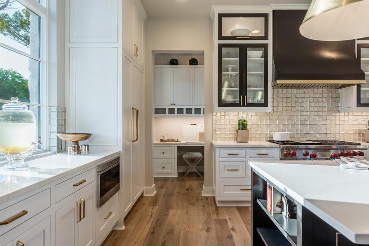 Black And Silver Kitchen Hood Design Ideas