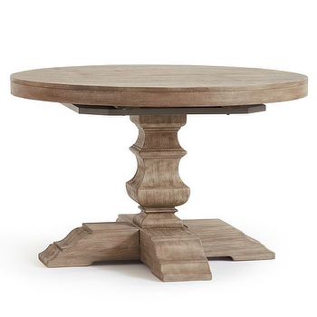 Extension Dining Table Look Less And Steals And Deals - Pottery barn extension dining table
