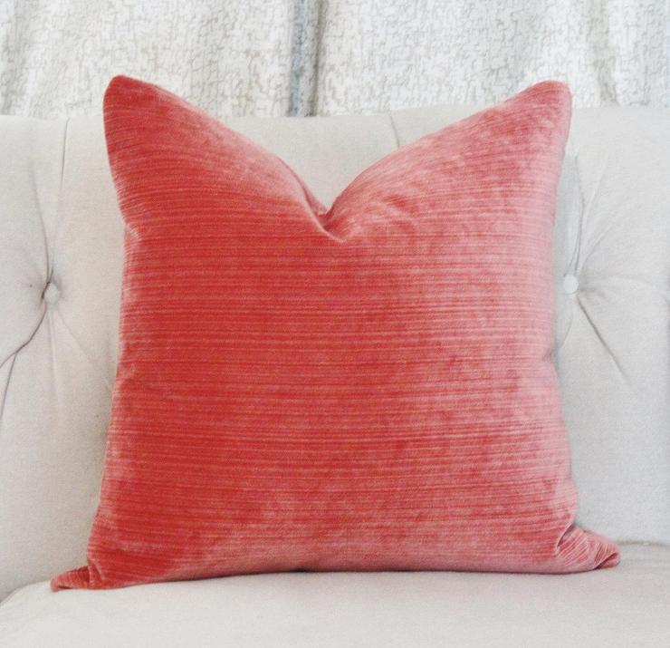 Premier Prints Sherpa Coral Aqua Ikat Fabric