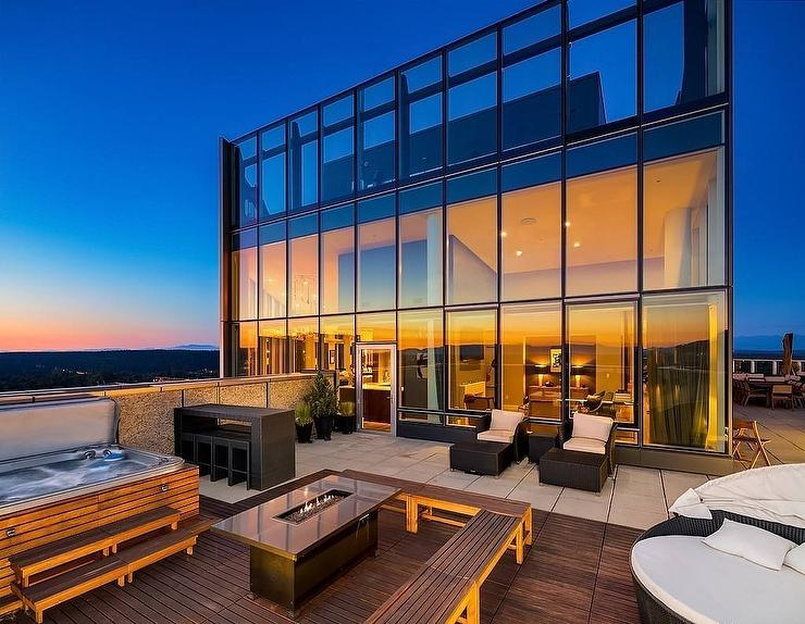 2 Story Glass House
