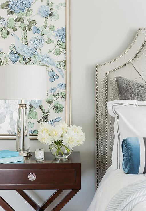 Bedroom Fabric Art Panels Design Ideas