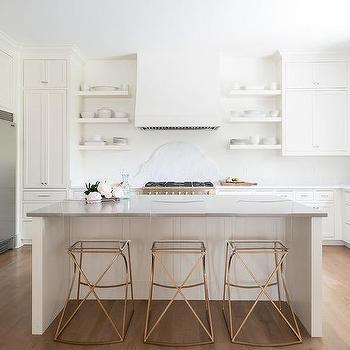 Groovy Gold Metal And Acrylic Kitchen Stools Design Ideas Inzonedesignstudio Interior Chair Design Inzonedesignstudiocom
