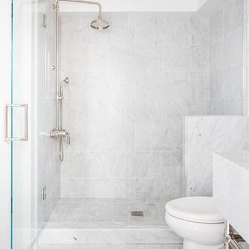 Black And Gray Triangle Pattern Bathroom Floor Tiles Design Ideas