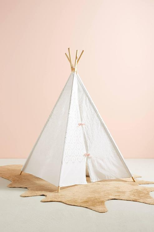 Pavilion Pink And Grey Play Tent