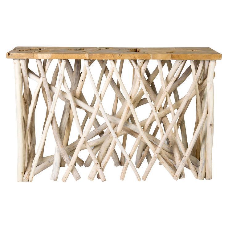 Fine Alto Tan Rectangle Organic Console Table Ibusinesslaw Wood Chair Design Ideas Ibusinesslaworg