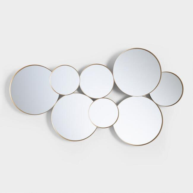 Quot Mirrored Circles Quot Accent Mirror Horchow