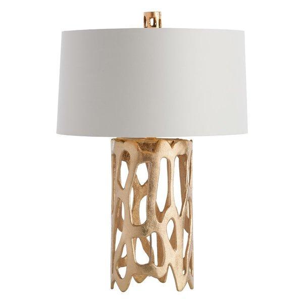sc 1 st  Decorpad & Brampton Cylindrical Aluminum Gold Table Lamp