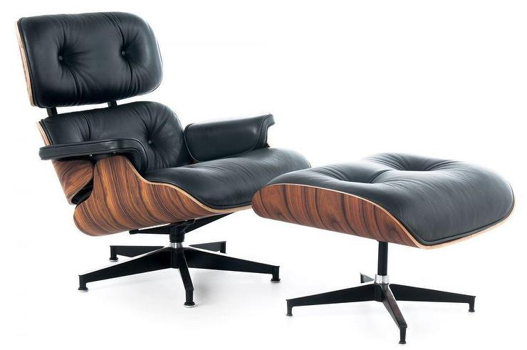 Awe Inspiring Ebb Eames Style Lounge Chair And Ottoman Squirreltailoven Fun Painted Chair Ideas Images Squirreltailovenorg