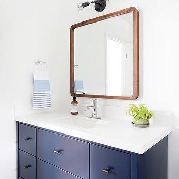Mid Century Modern Vanity Vintage Bathroom Damon