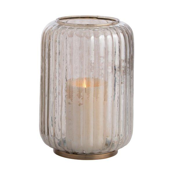 Calista Glass Cylinder Tealight Candleholders
