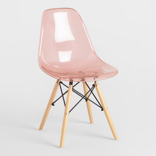 Modern Blush Accent Chair Products Bookmarks Design