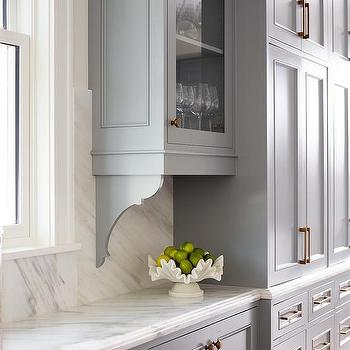 Kitchen Cabinet Corbels Design Ideas