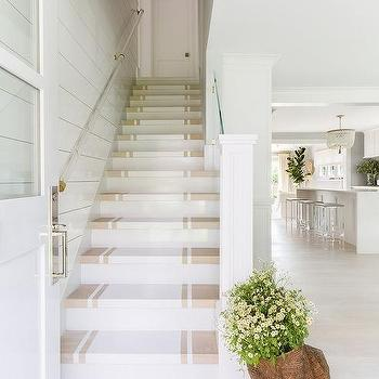 Alyssa Rosenheck: White And Tan Painted Staircase