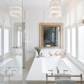 Glass oval bathroom chandelier design ideas glass oval chandelier over bathtub aloadofball Images