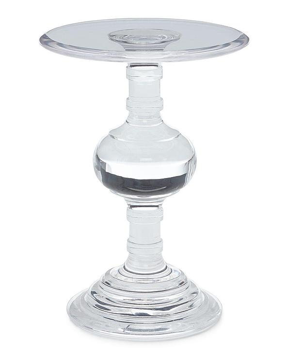 Bernhardt Andrea Round Acrylic Side Table