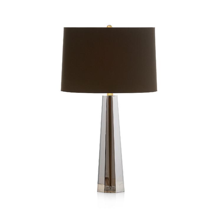 Wren Smoky Crystal Geometrical Table Lamp