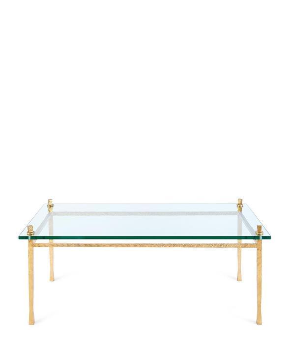 Hensley Glass Coffee Table