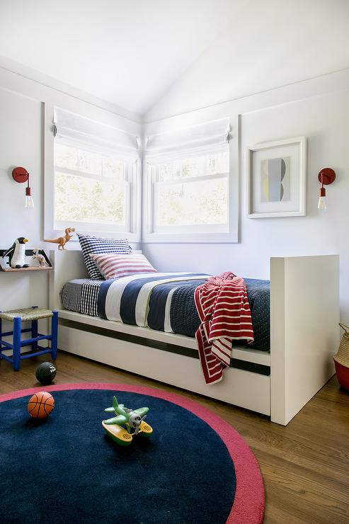 Red Twin Bed Design Ideas