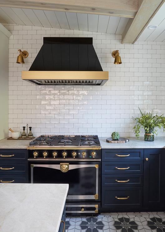 Black Cornue Cornuefe Albertine Transitional Kitchen