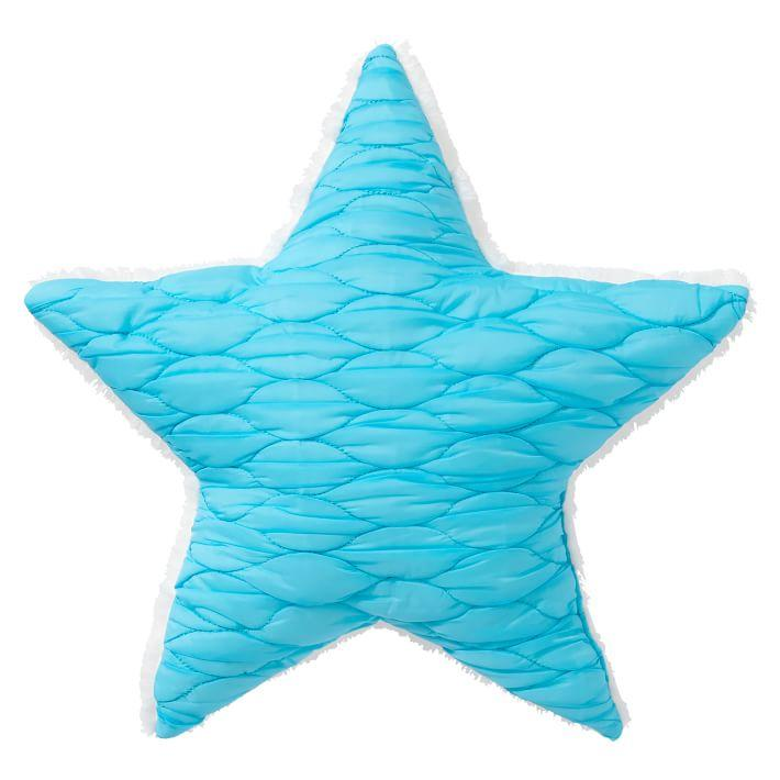 The Emily And Meritt White And Gold Up Up And Away Pillow