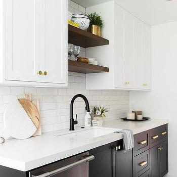 white and gray kitchen with ikea cabinets contemporary kitchen. Black Bedroom Furniture Sets. Home Design Ideas