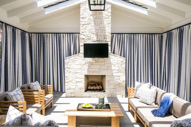 u shaped television u shaped outdoor furniture arrangement transitional deckpatio