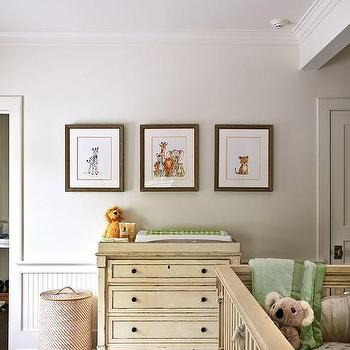 Cream French Dresser And Changing Table