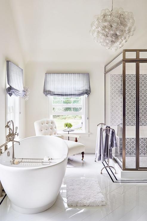 Mirrored Vanity Contemporary Bathroom House Beautiful