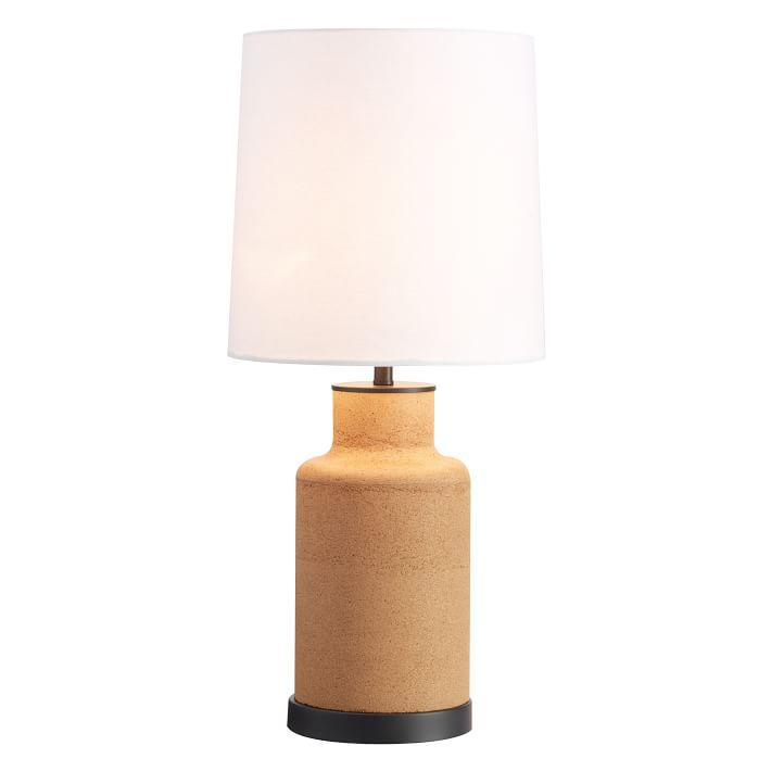 Cork Bottle Base Table Lamp
