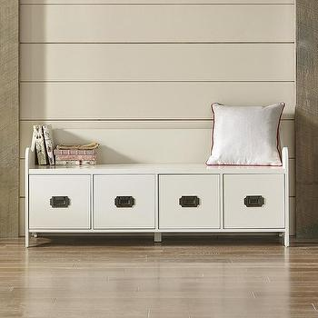 Remarkable Wood Campaign Bench Look 4 Less And Steals And Deals Evergreenethics Interior Chair Design Evergreenethicsorg