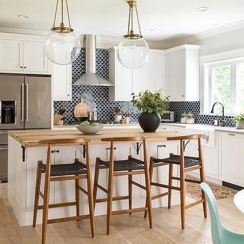 Mid Century Modern Kitchen Island Counter Stools Design Ideas