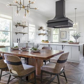 Parquet Wood Like Kitchen Floor Tiles Design Ideas