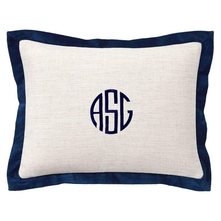 toronto pillows of gallery monogram pillow best
