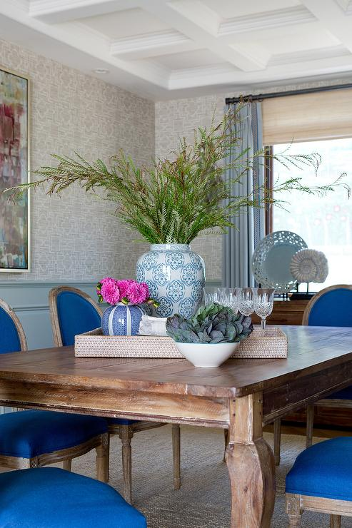 Peachy Royal Blue French Dining Chairs With Cabriole Legs On Dining Gamerscity Chair Design For Home Gamerscityorg