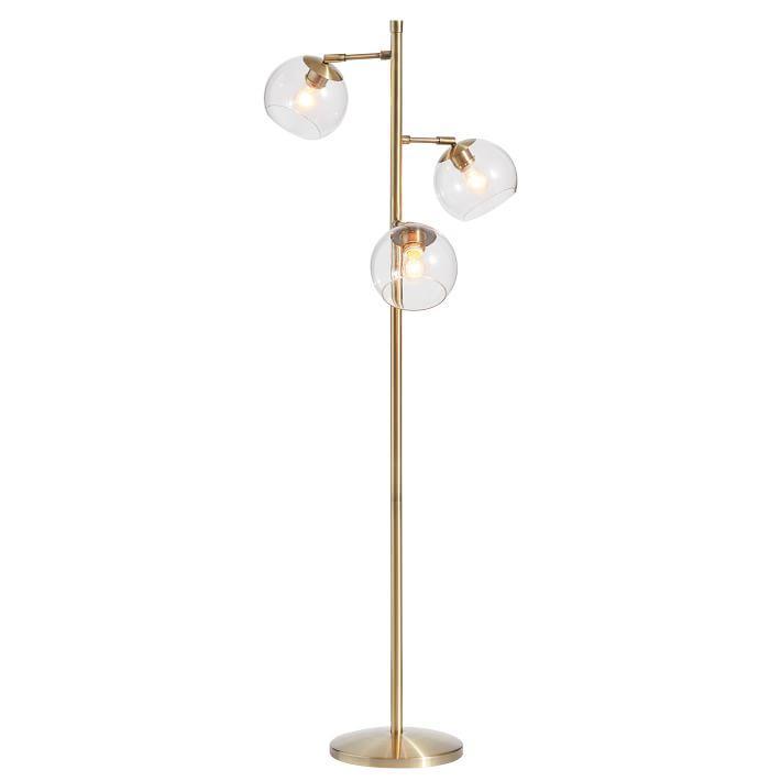 Bower Gold Globes Led Floor Lamp
