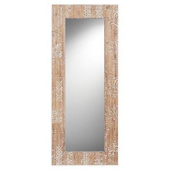 Rectangular Carved Wood Mirror, Carved Wood Mirror Target
