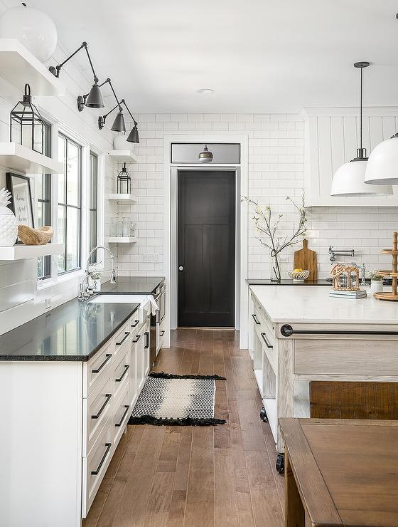 Black Kitchen Pantry Door