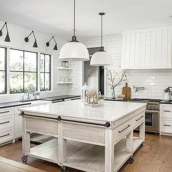 Vertical Shiplap Kitchen Hood Cottage Kitchen