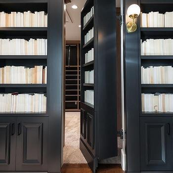 secret bookcase door - Bookcase Design Ideas