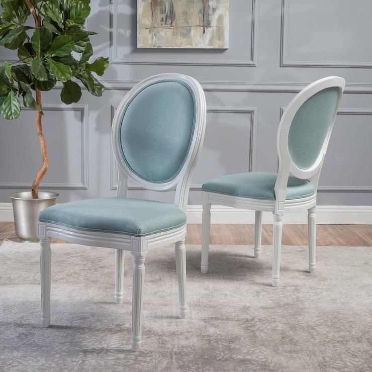 Oval Room Blue Velvet Texture