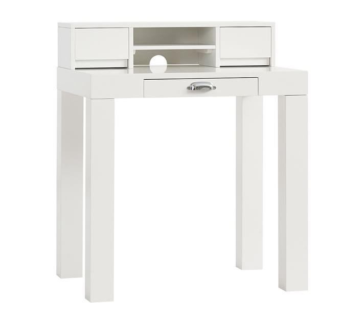 White Parsons Desk