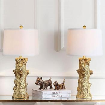 White Faux Bois Floor Lamp Shopten 25 Interior Design
