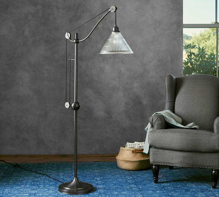 Bodhi Black Iron Task Floor Lamp