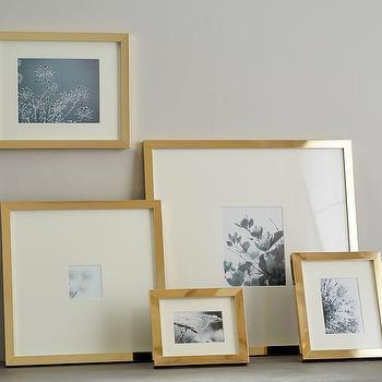Modern Gold Metal Frames - Products, bookmarks, design, inspiration ...