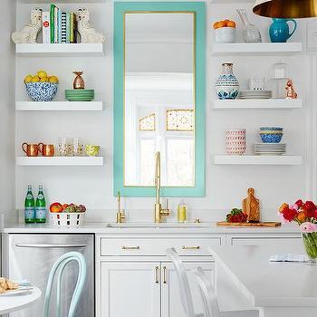 Mirror Over Kitchen Sink Design Ideas