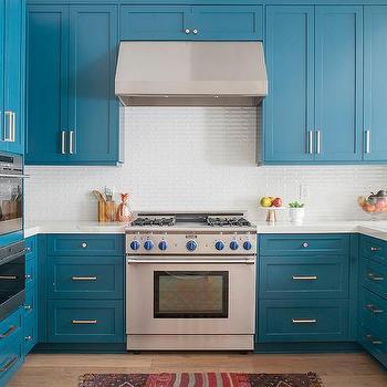 Tropical Blue Kitchen Colors