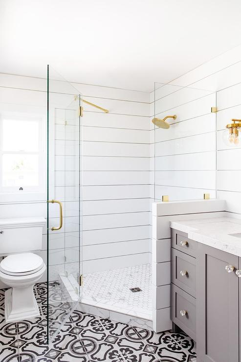 Shiplap Bathroom Walls Design Ideas Page 1
