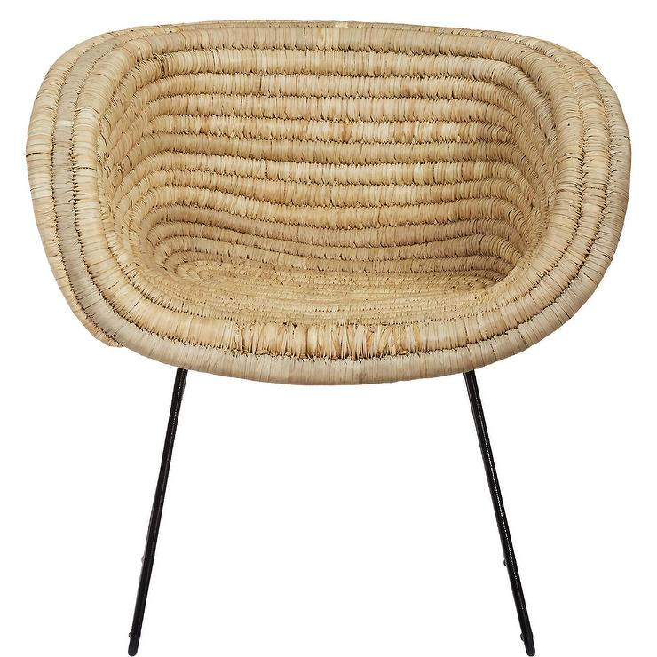 bamboo sale for pamono basket set of chair round at chairs