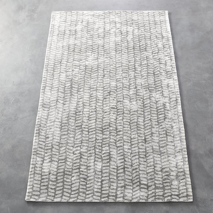Tread Tufted Gray Patterned Area Rug Adorable Patterned Area Rugs